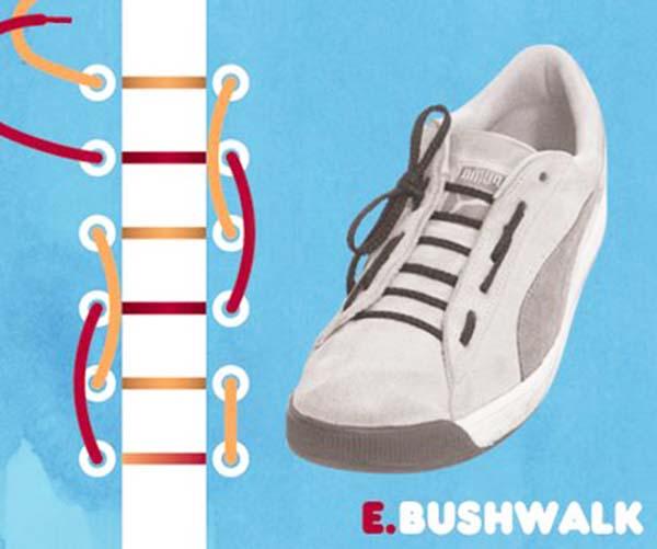 Cách thắt dây giàylạ và độc