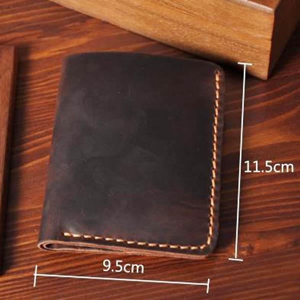 Ảnh kích thước cụ thể mẫu ví da nam handmade 001