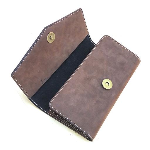 Mẫu ví da nữ cầm tay handmade 003
