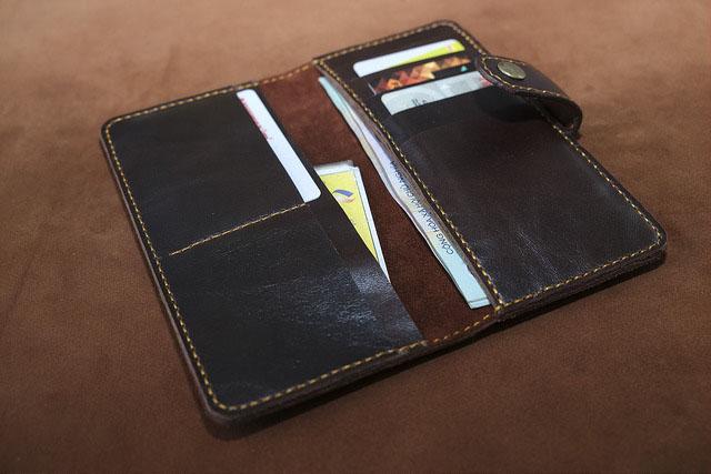Mẫu ví da nữ handmade 004