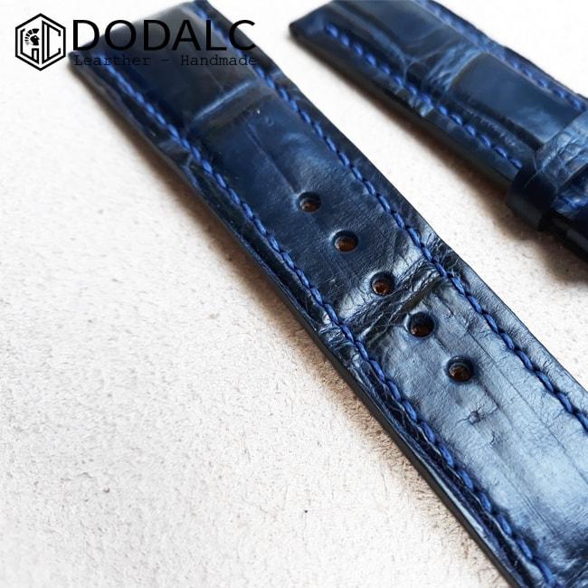 Dây đồng hồ da 009 - Dây đồng hồ 100% được làm từ da cá sấu