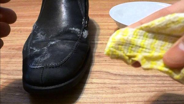 Giày da bị nấm mốc