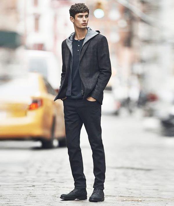 Phong cách thời trang nam đơn giản
