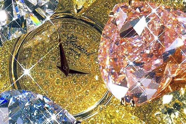 Chiếc đồng hồ đắt nhất thế giới Chopard 201 Carat : 25 triệu USD