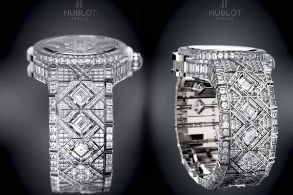 Chiếc đồng hồ đứng thứ tư thế giới Hublot Diamond 5 triệu USD