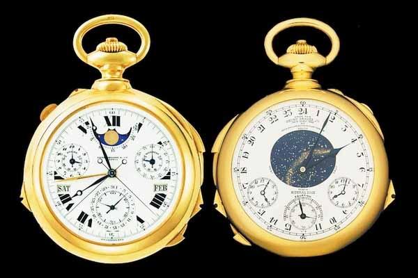 Chiếc đồng hồ đắt thứ hai trên thế giới Patek Philippe Super Complication: 11 triệu USD