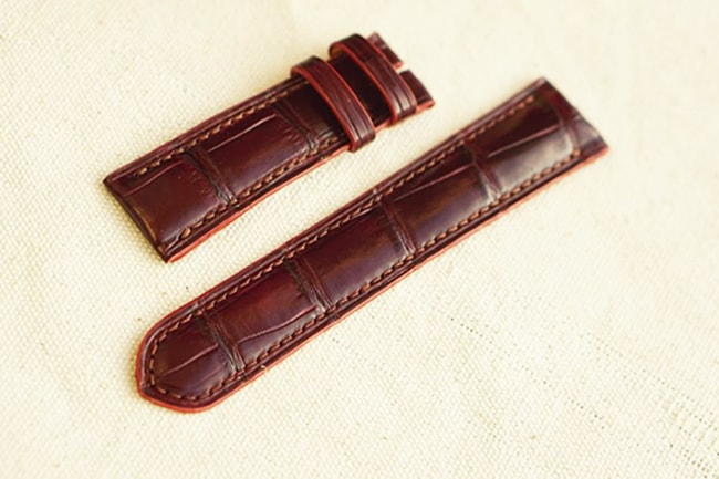 Mẫu dây da đồng hồ cao cấp tại Hà Nội của Shop đồ da Handmade LC