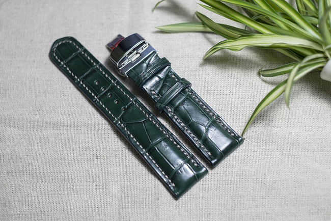 Mua dây da đồng hồ xịn ở Hà Nội tại Shop đồ da Handmade LC