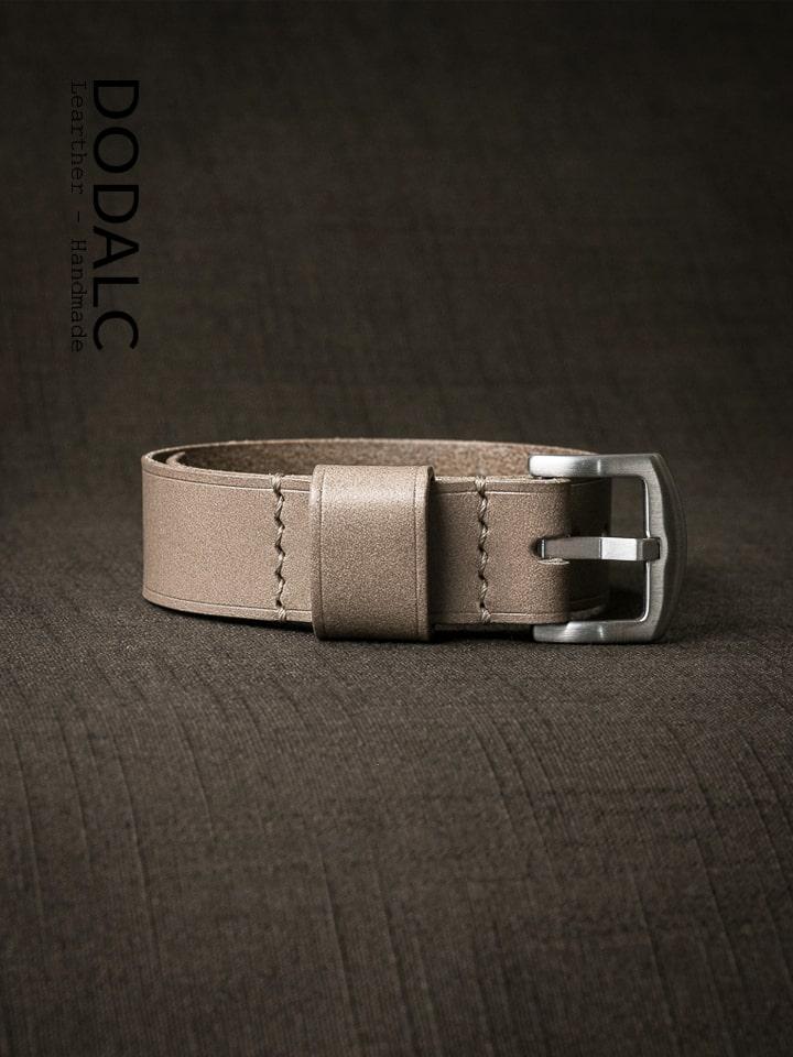 dây đồng hồ NATO da bò handmade 028
