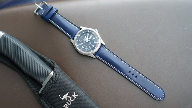 Dây da đồng hồ handmade -DODALC