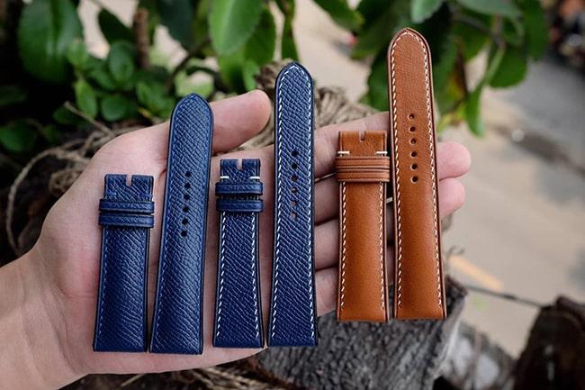 Bán dây da đồng hồ Handmade TPHCM và Hà Nội da xịn giá tốt nhất
