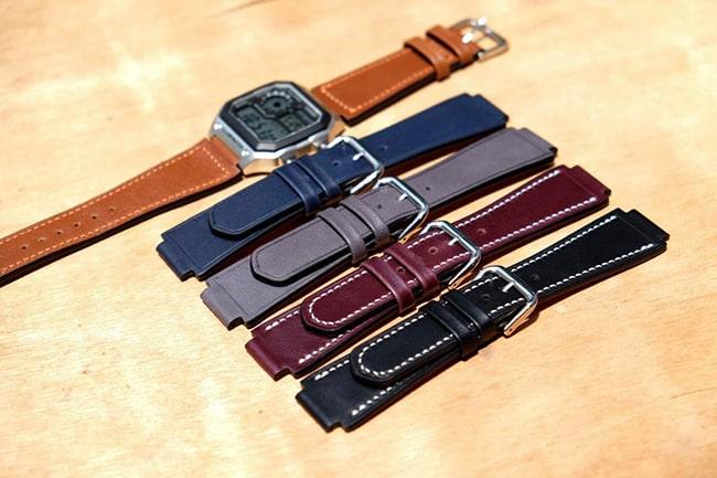 Sản phẩm dây da đồng hồ nam của DODALC