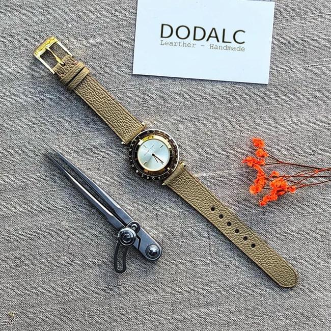 Shop bán dây da đồng hồ nữ đẹp da thật tự nhiên tại Hà Nội và TPHCM
