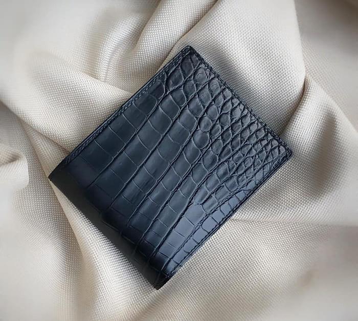 Mẫu ví da cá sấu handmade cao cấp của DODALC
