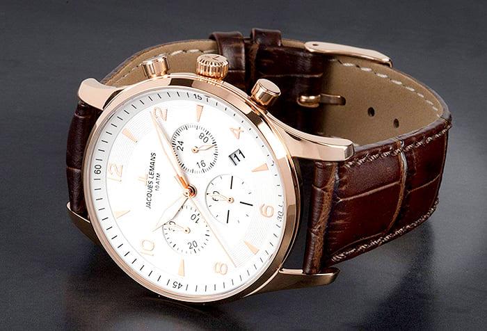 Thay dây đồng hồ Jacques Lemans tại Shop DODALC