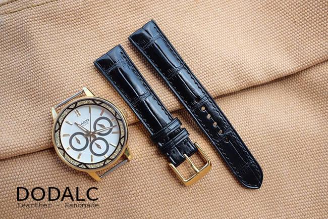 Shop bán dây da đồng hồ Orient
