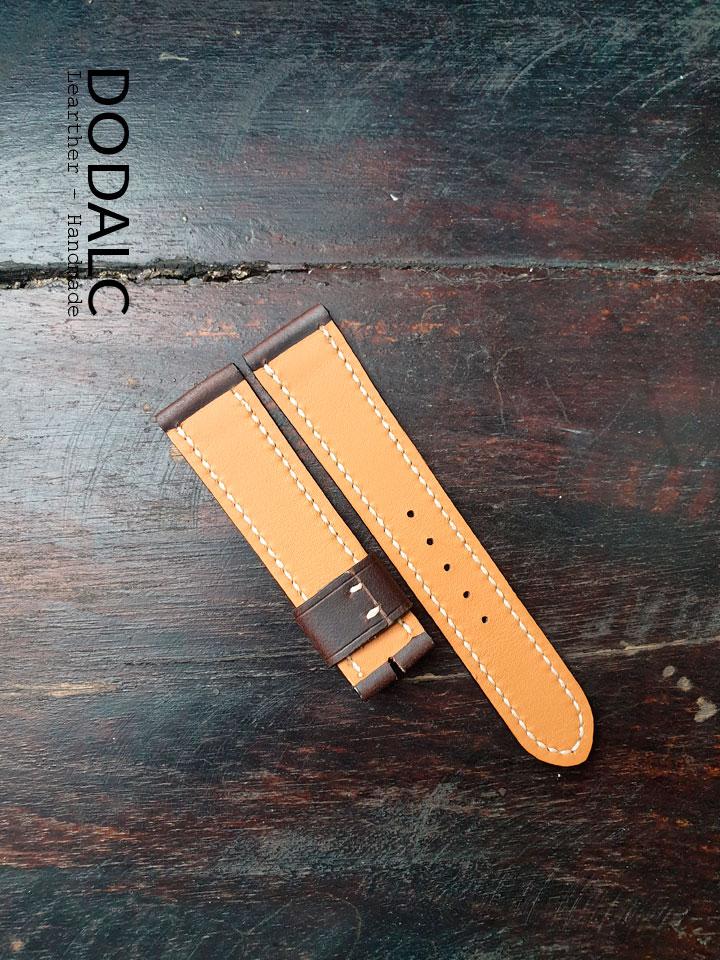 Hình ảnh sản phẩm Dây da đồng hồ Handmade 048
