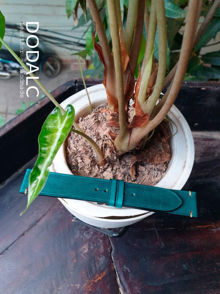 Hình ảnh sản phẩm dây đồng hồ da bò handmade 049
